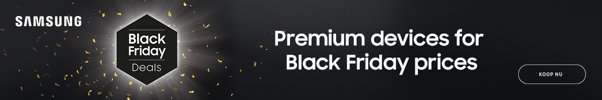 Samsung Black Friday 2019 Banner 2 Aanbieding Korting Alle Black Friday aanbiedingen op één siteXL