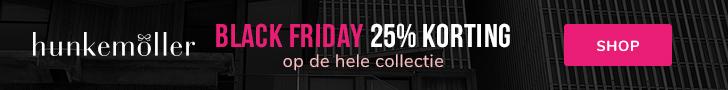 Hunkemoller Friday 2019 Aanbieding Korting Alle Black Friday aanbiedingen op één site banner 2