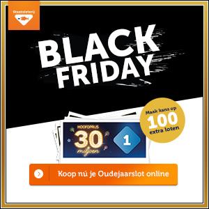 Staatsloterij Black Friday 2019 Aanbieding Korting Alle Black Friday aanbiedingen op één site